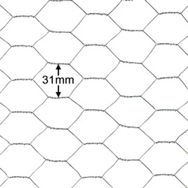 31mm Wire Netting at www.sffencing.co.uk
