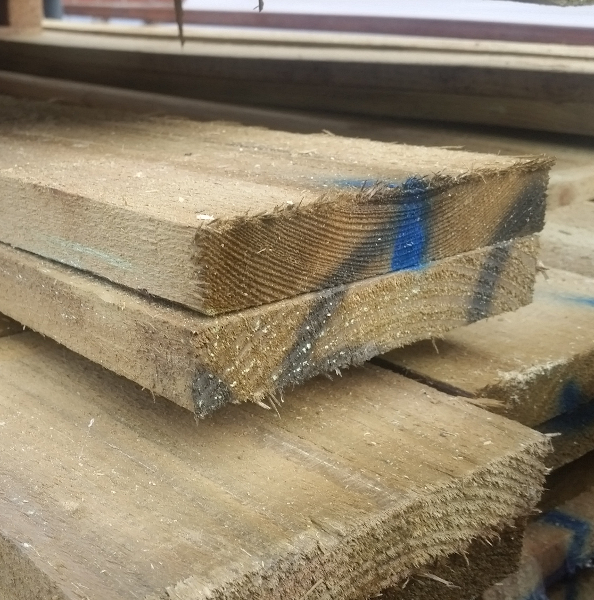 Wood Gravel Boards at www.sffencing.co.uk