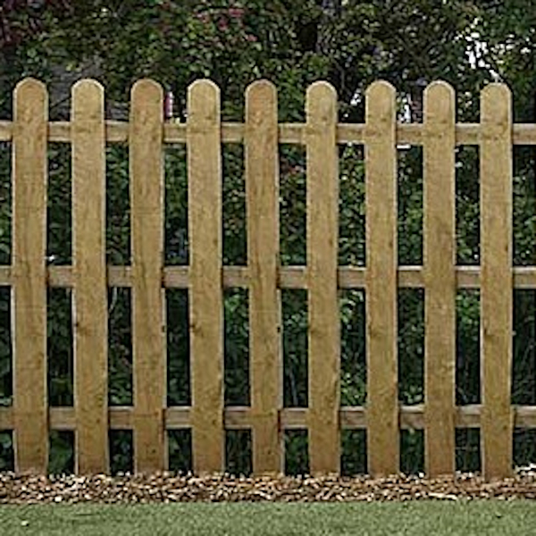 Picket Fence Panel ar www.sffencing.co.uk