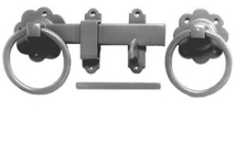 Plain Ring Handle Tapered Gate Latch at www.sffencing.co.uk