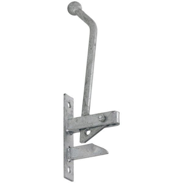 Hunting Type Self Locking Auto Gate Catch at www.sffencing.co.uk